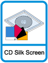CD and DVD Silk-Screen Printing